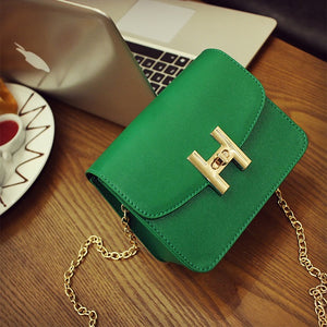 Simple Flap Retro Korean Version Shoulder Bag - Lellasbags
