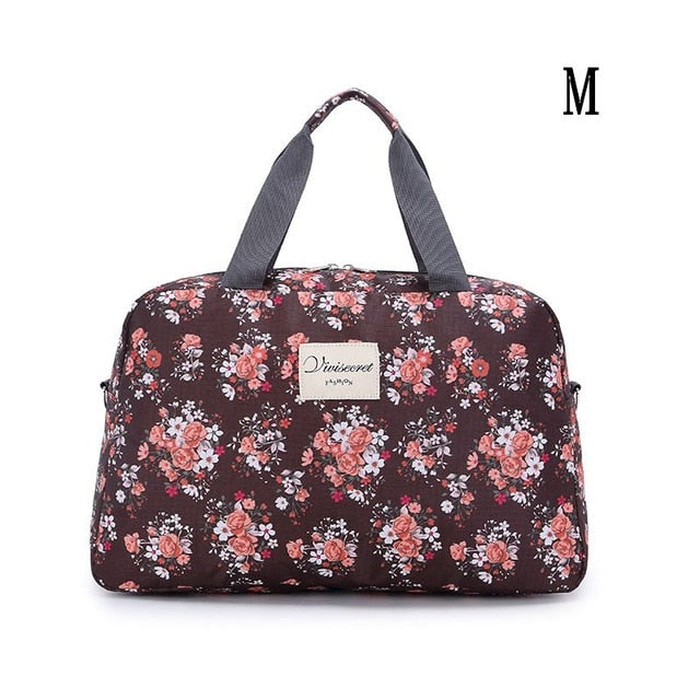 2019  Women Fashion Traveling Shoulder Bag Large Capacity Travel Bag Hand Luggage Bag - Lellasbags