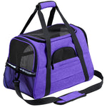 Small Dog Travel Bag Soft Side Breathable Pet Carrier For Cat - Lellasbags