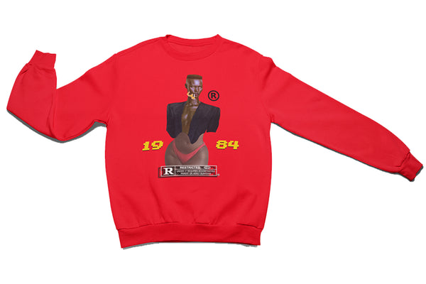 GRACE GANG 1984 CREWNECK SWEATSHIRT