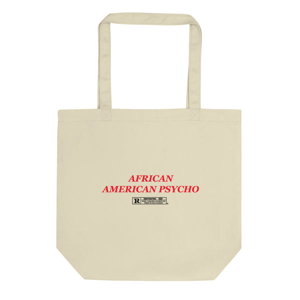 African American Psycho!®️ Canvas Art Bag