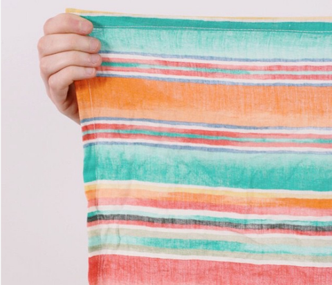 Colorful picnic blanket