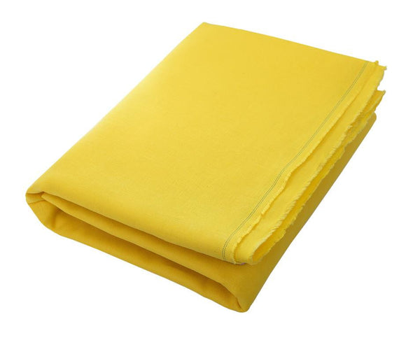 Ico: Canary Yellow Linen Beach Towel - Deck Towel
