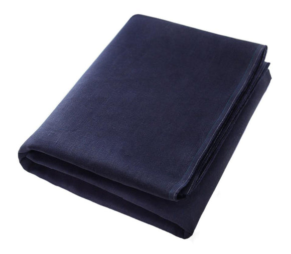 Rens: Beautiful Navy Linen Beach Towels - Deck Towel