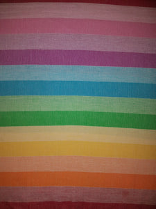 Elvan Striped Peshtemal Towel - Deck Towel