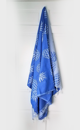 Bercu Pineapple Peshtemal Towel - Deck Towel