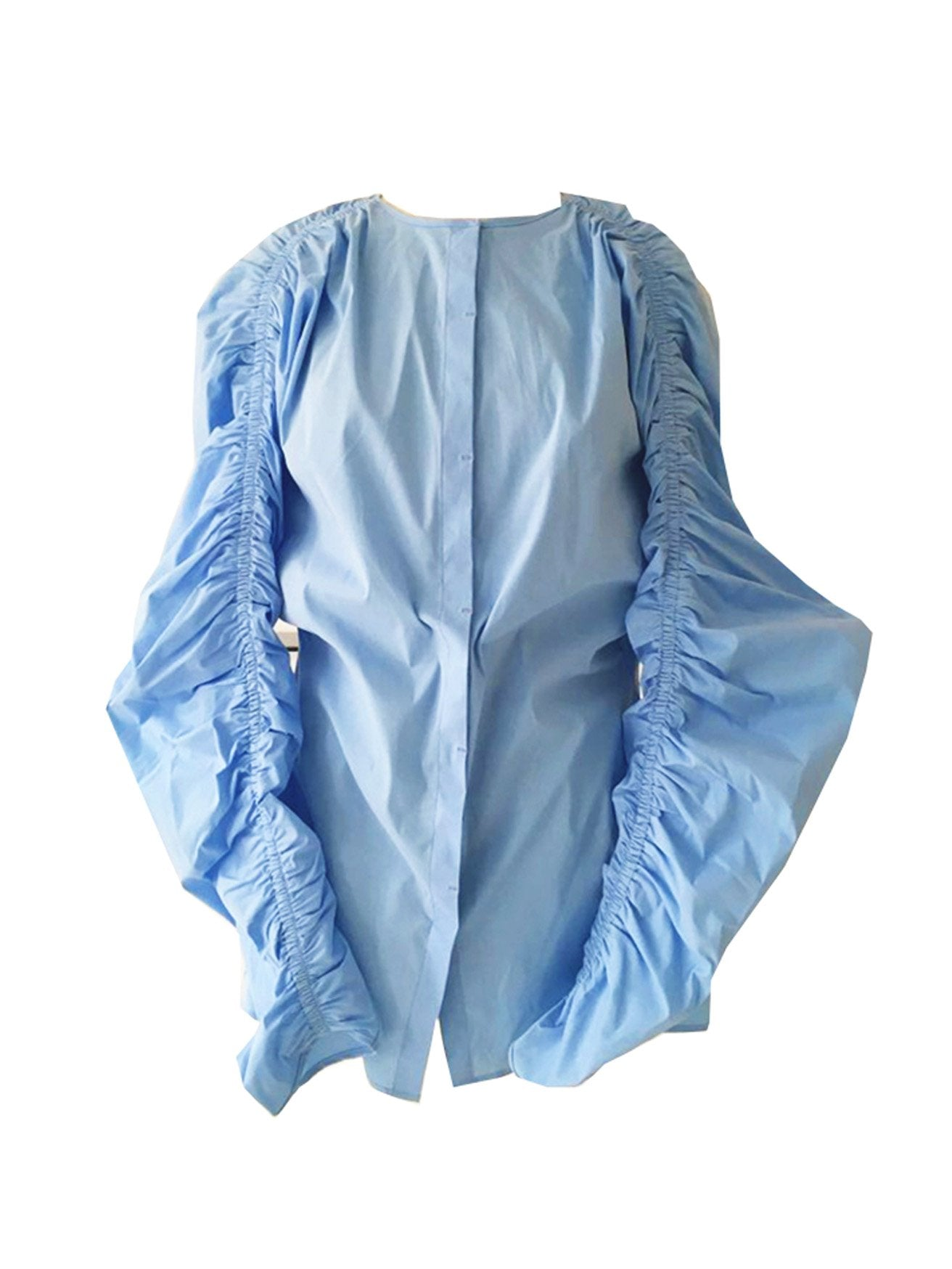 HARU SHIRRING BLOUSE