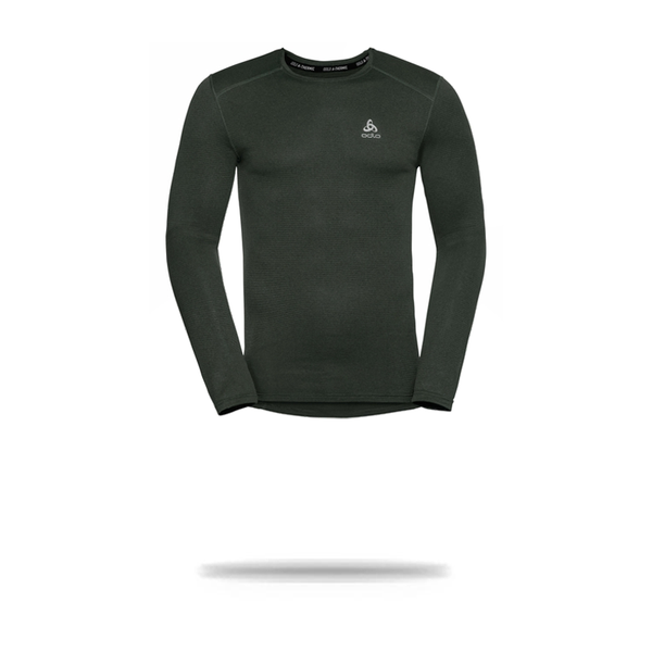Odlo Men's BL Top crew Neck L/S  Active Sports Underwear