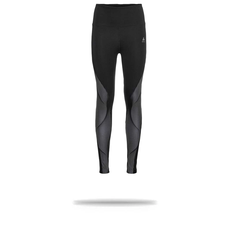 Odlo Women's LOU Tights Black|Graphic / XS