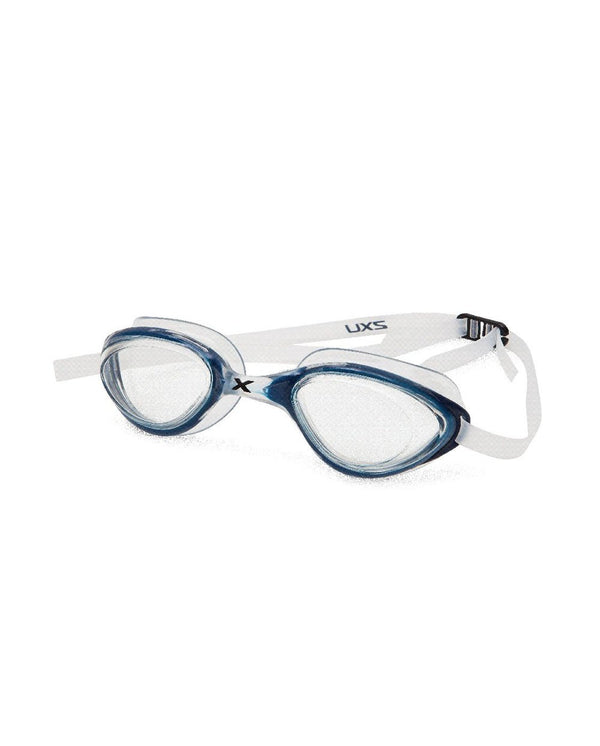 Unisex 2XU Rival Goggle-Clear Clear/Blue / One Size