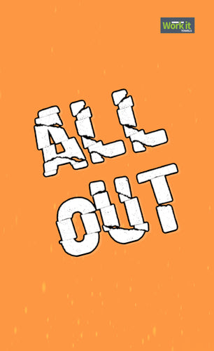 All Out 21 - work it towels