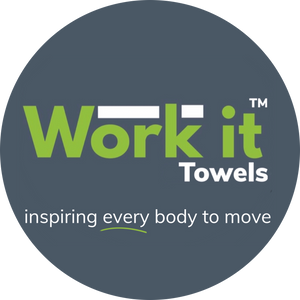 Custom towel- 12 qty or more - work it towels