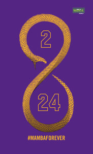 Mamba Forever- gold - work it towels