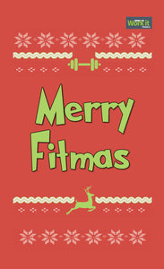 Merry Fitmas - work it towels