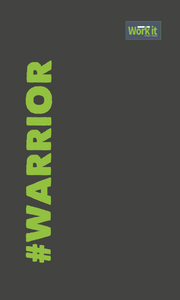 Warrior - work it towels