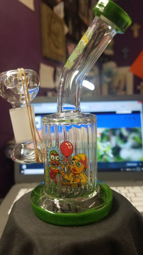GLASS CBD BUBBLER -