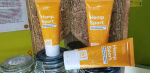 "Cbd sports lotion 100 cannabinoids - ""SKUNKY BOTANICS"""