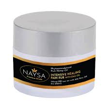 NAYSA CBD INTENSIVE PAIN CREME WITH EMU OIL -