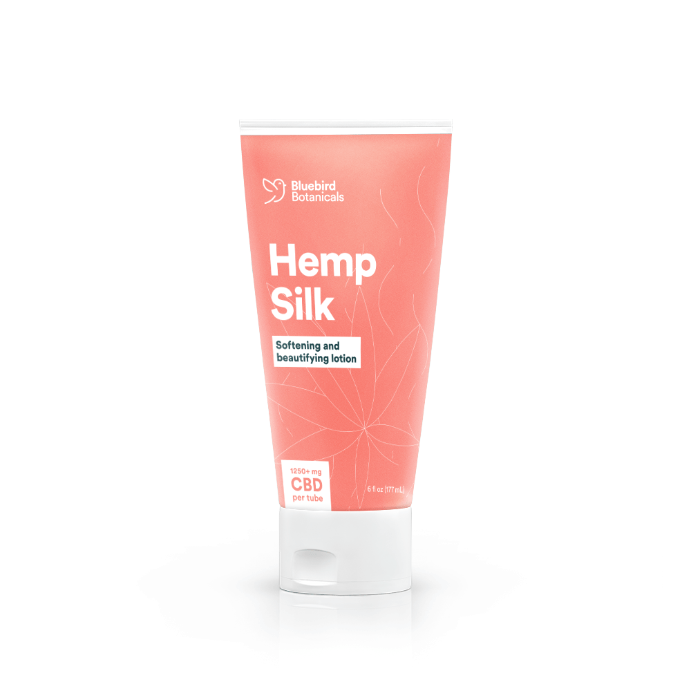 Hemp silk 100 cannabinoids lotion -