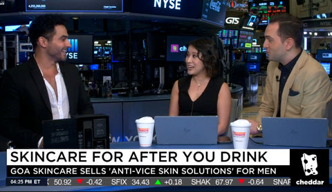 GOA Skincare on Cheddar: Anti-Vice Solutions