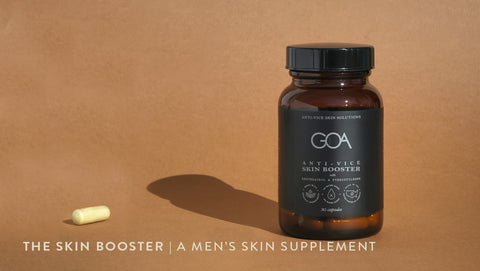 The Skin Booster: A Men's Skin Supplement