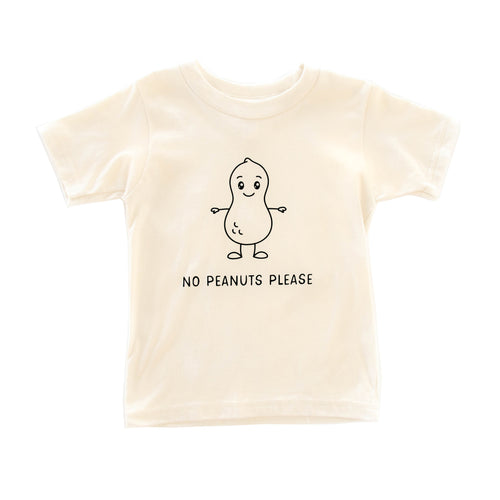 No Peanuts Please S/S Tee