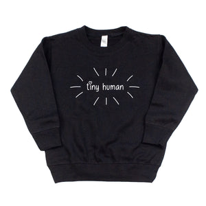 Tiny Human Sweatshirt - Black
