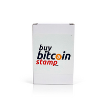 Load image into Gallery viewer, Buy Bitcoin Stamp (38mm x 14mm)