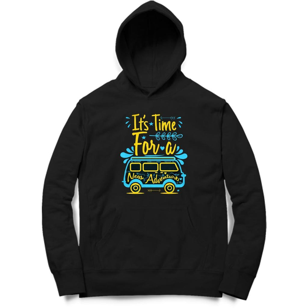 It's Time For A New Adventure Hoodie - ALL MY WISH
