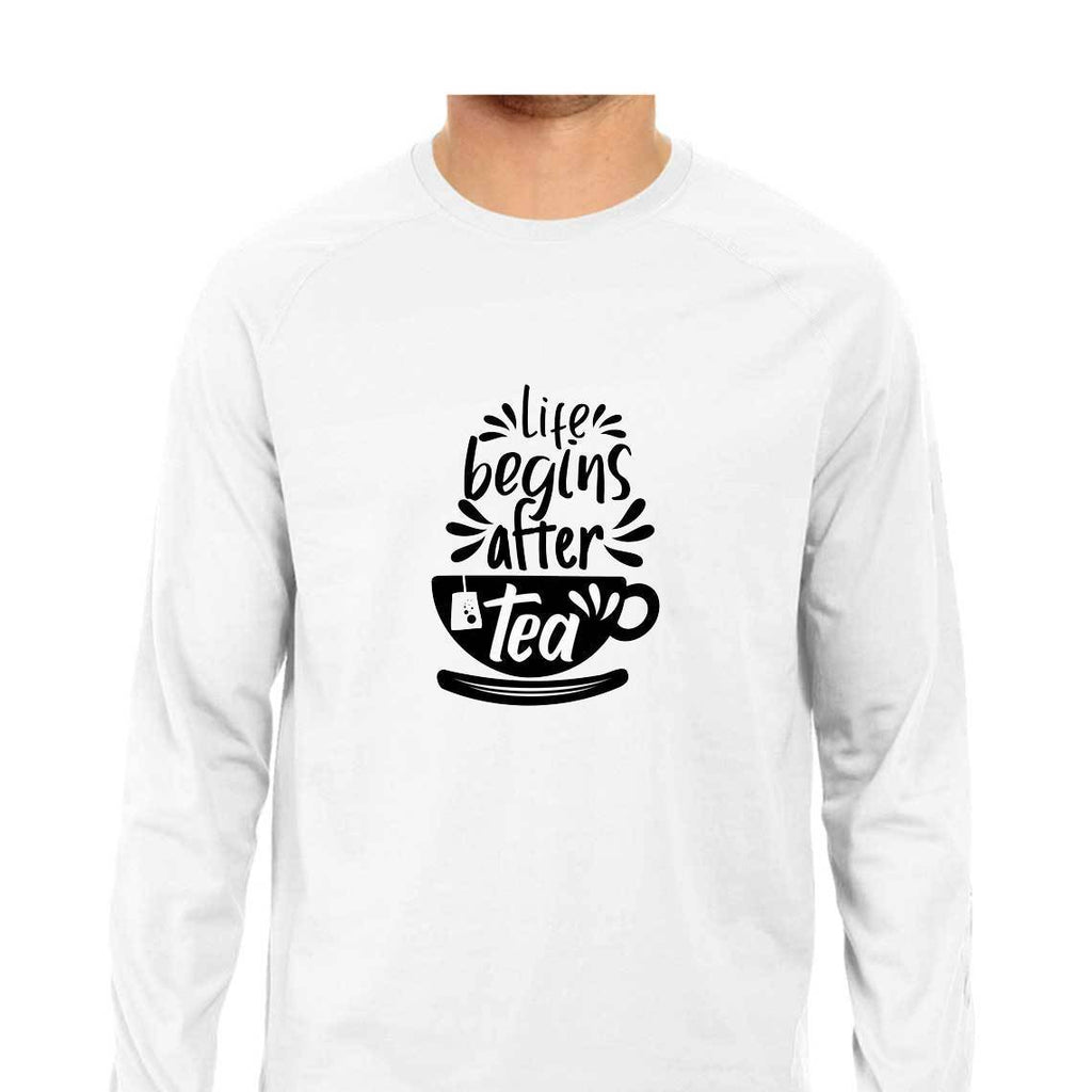 Life Begins After Tea T-Shirt - ALL MY WISH