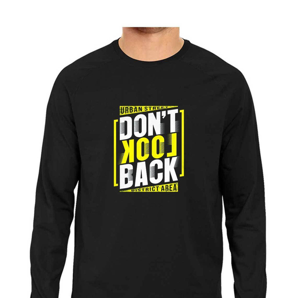 Don't Look Back T-Shirt - ALL MY WISH