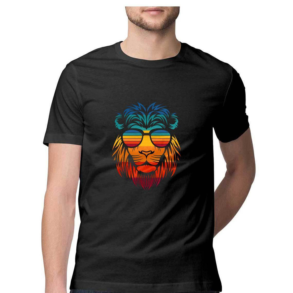 Multi Color Lion T-Shirt - ALL MY WISH