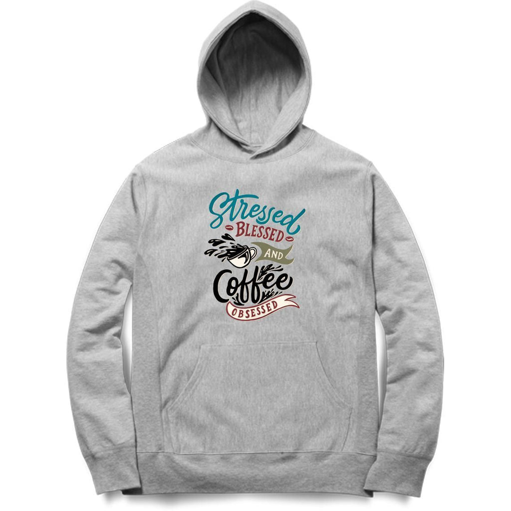 Stressed Blessed And Coffee Hoodie - ALL MY WISH