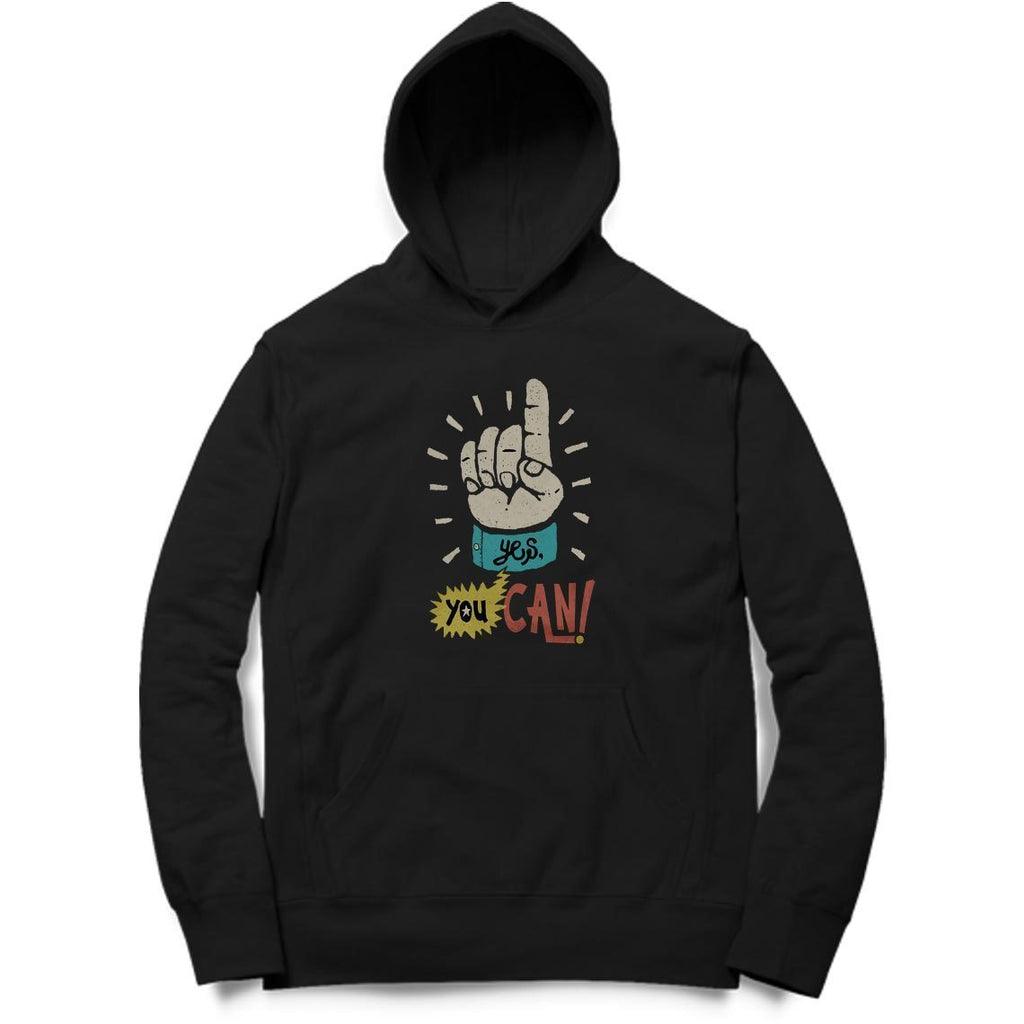 Yes You Can Hoodie - MH00026 - ALL MY WISH