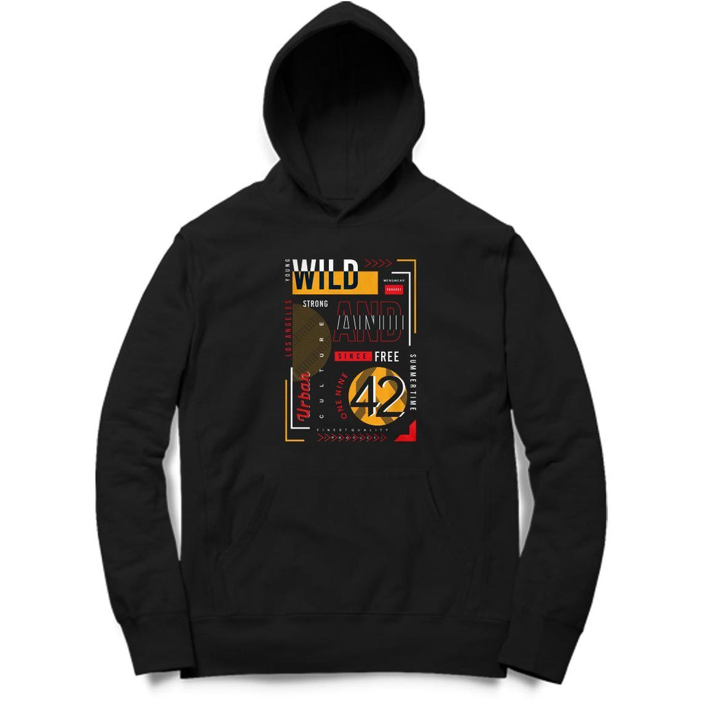 Young and Wild Hoodie - MH00027 - ALL MY WISH