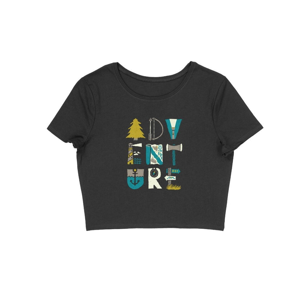 Adventure Crop Top - CT00034 - ALL MY WISH