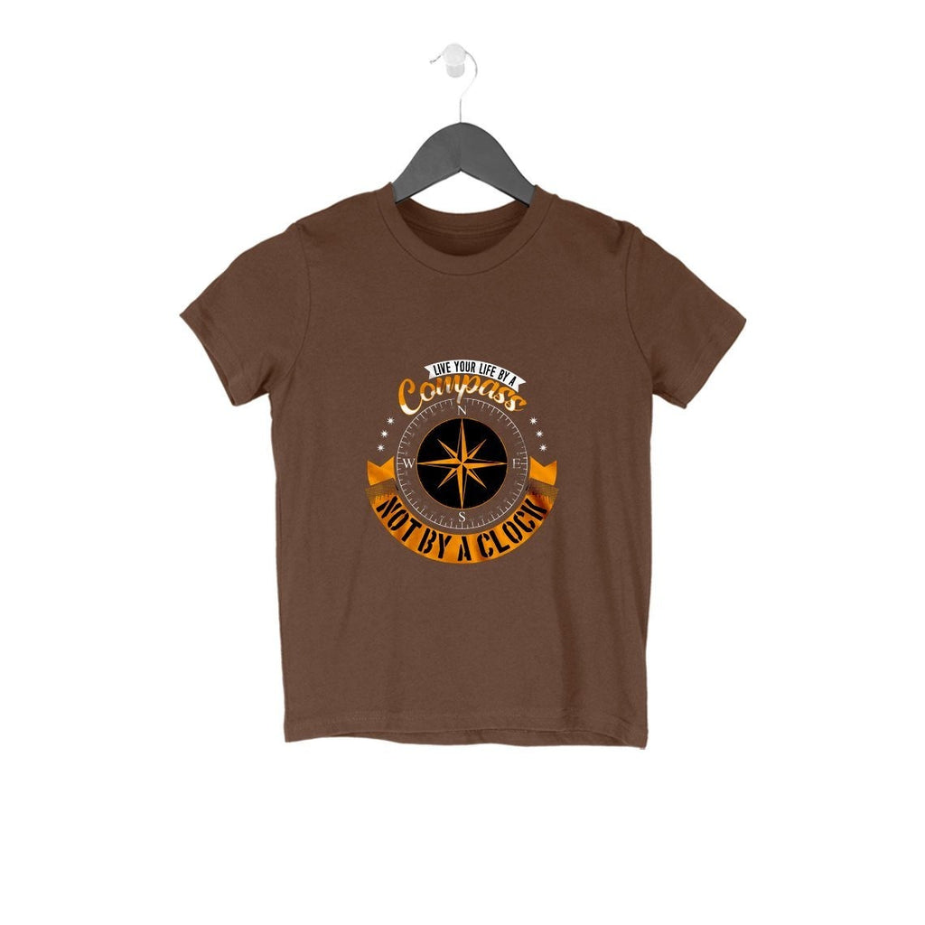 Live Your Life By A Compass T-Shirt - KSS00003 - ALL MY WISH