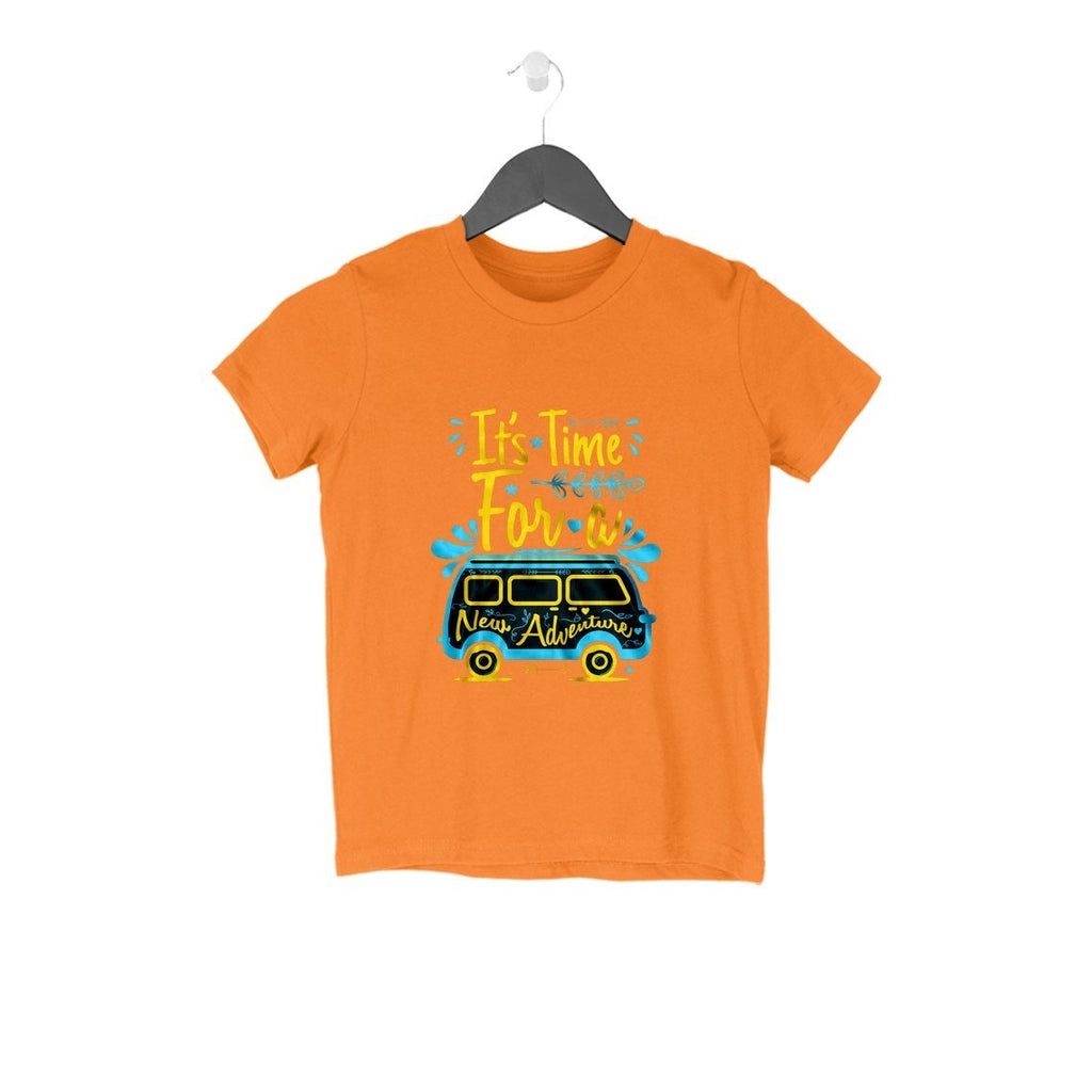 Its Time For A New Adventure T-Shirt - KSS00010 - ALL MY WISH