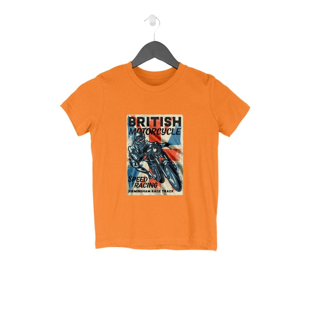 British Motorcycle T-Shirt - KSS00018 - ALL MY WISH