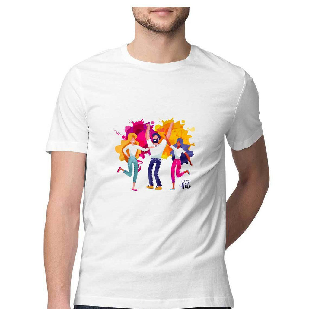 Holi T-Shirt - MSS00075 - ALL MY WISH