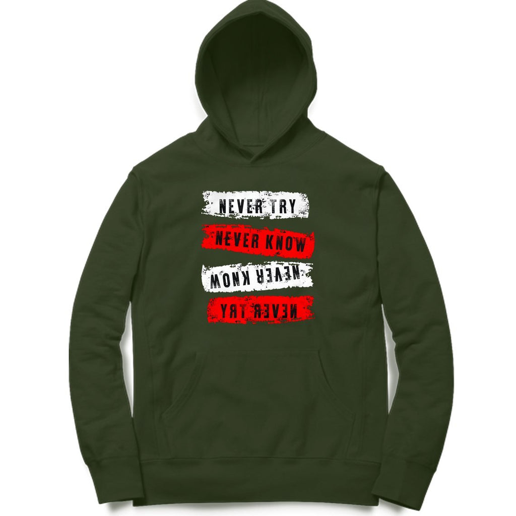 Printed Hoodie - MH00062 - ALL MY WISH