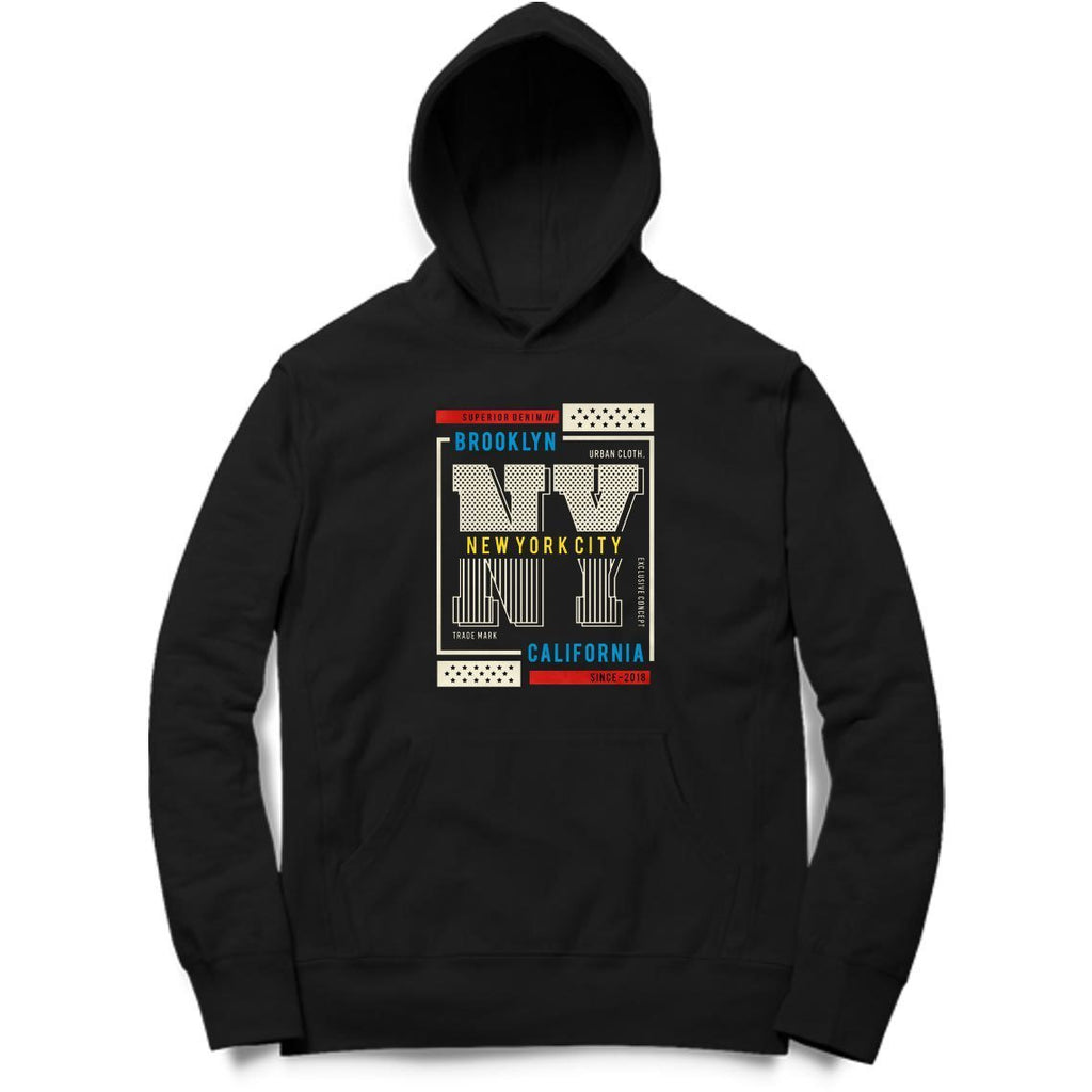 Printed Hoodie - MH00063 - ALL MY WISH