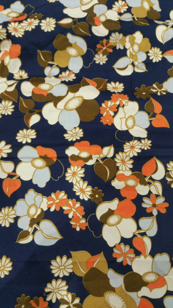 Floral Cotton Printed Fabric - F00004 - ALL MY WISH