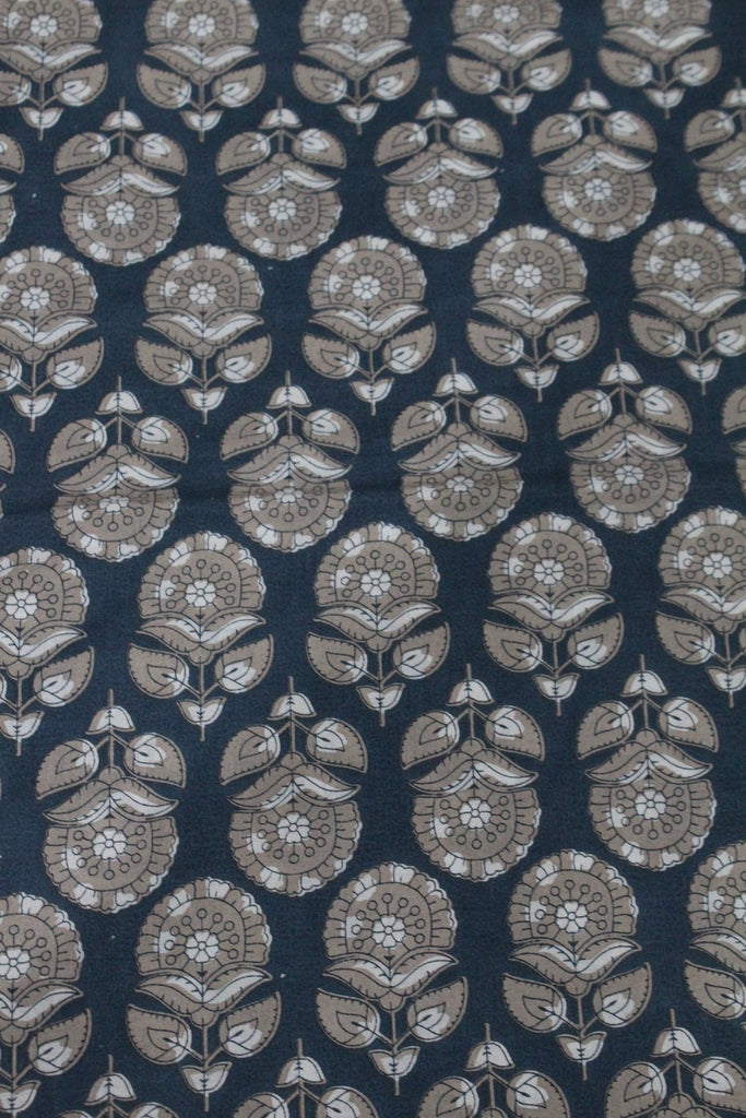 Block Printed Cotton Fabric - F00035 - ALL MY WISH