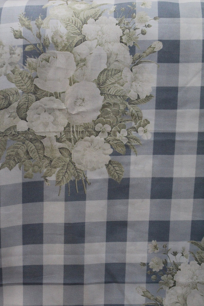 Soft Maslin Crepe Printed Fabric - F00065 - ALL MY WISH