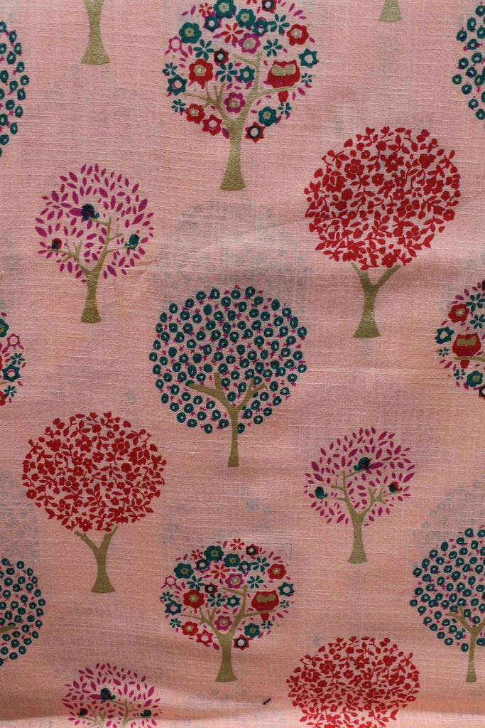 Soft Cotton Printed Fabric - F00100 - ALL MY WISH