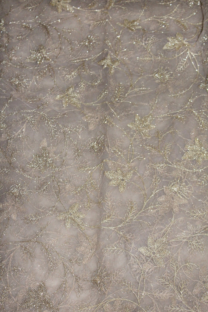 Embroidered Net Fabric - F00143 - ALL MY WISH