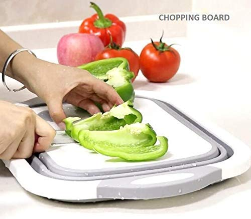Multifunctional Foldable Cutting,Chopping Board,Collapsible Dish Tub - H00006 - ALL MY WISH