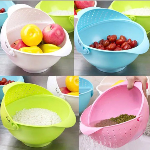 Rice Fruit Strainer Jumbo Assorted Bowl - H00038 - ALL MY WISH