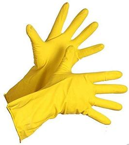 Reusable Rubber Hand Gloves (Random Color) - H00039 - ALL MY WISH